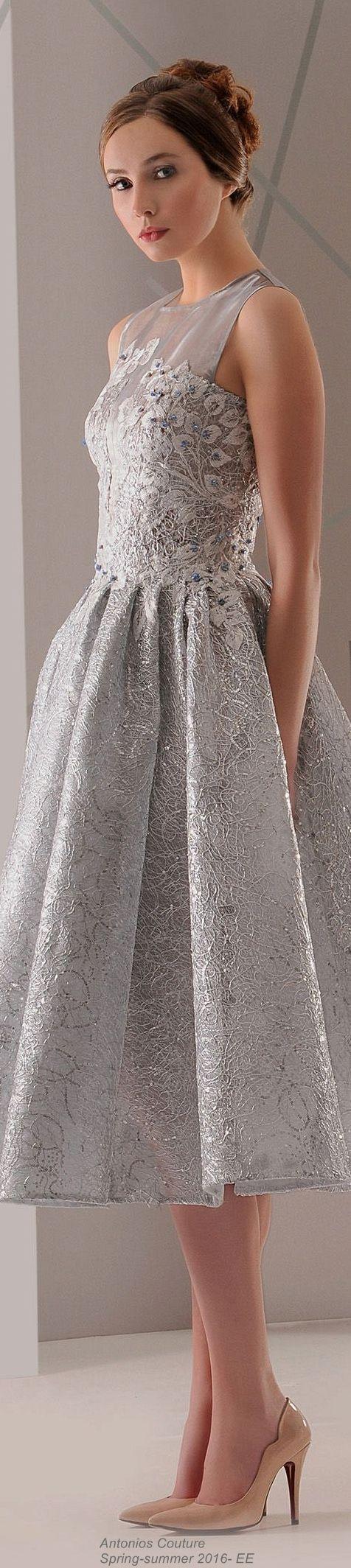 Antonios Couture Primavera-Verão 2016- EE: