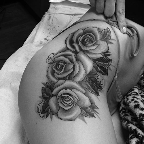 101 Best Rose Tattoo Ideas For Women 2020 Guide In 2020 Rose Tattoos For Women Rose Tattoos Rose Tattoo On Hip