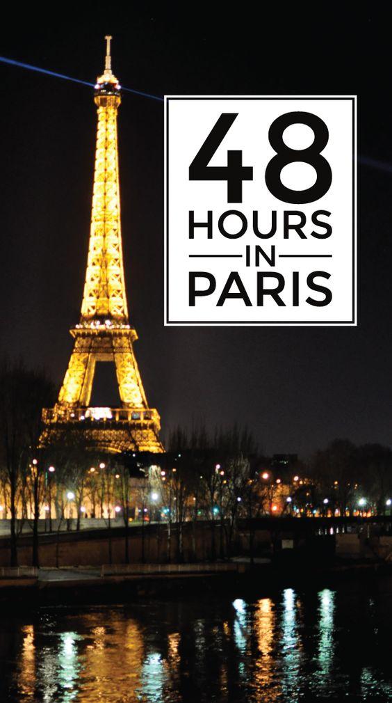 48 hours in paris. - {long distance loving}