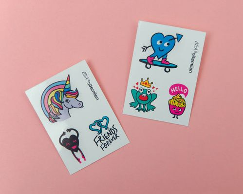 Faux tatouage pour enfants, Kids, Nailmatic