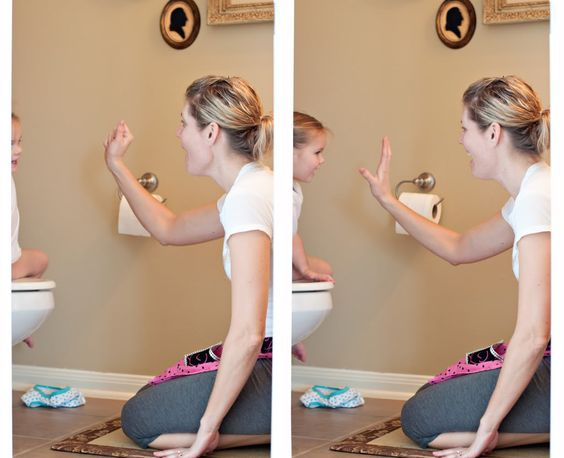 Great tips for potty training in a single day - my favorite being once you start you don't go back *ever* - not to pull ups, even at night.  You power through