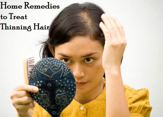 Thinning hair treatment, Thinning hair and Natural home ...