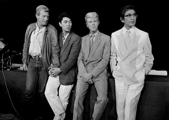 """mubiblog: """"Jack Thompson, Ryuichi Sakamoto, David Bowie, and Nagisa Oshima. """""""