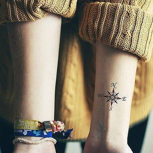 35 unique travel tattoos to fuel your eternal wanderlust wanderlust unique and compass. Black Bedroom Furniture Sets. Home Design Ideas