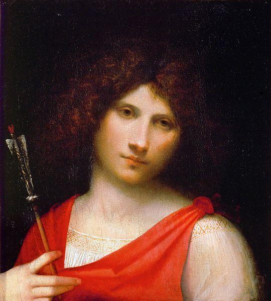 File:Giorgione - Ragazzo con la freccia 1500