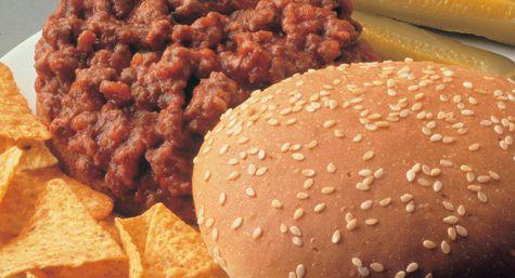Glenn's lunch - Texas Style Sloppy Joes