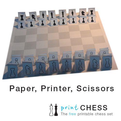 Printable Chess Set 3D