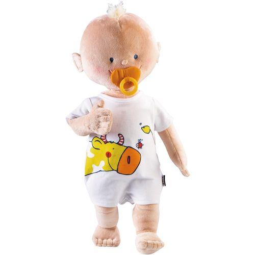 Puppe Krümel mit Schnuller JAKO-O, 3-teilig - Extraweich und -leicht – DIE erste Puppe! ♥ sorgfältig ausgewählt ♥ Jetzt online bestellen!