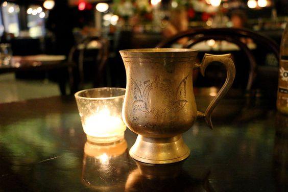 Green Tea Gimlet from La Societe in Toronto