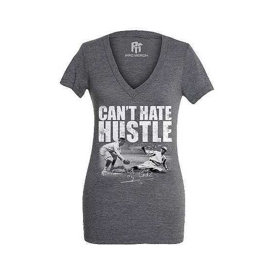 Ty Cobb: Can't Hate Hustle Womens Shirt, Women's, Tc ($20) ❤ liked on Polyvore featuring tops, t-shirts, tc, lightweight t shirts, shirts & tops e t shirts