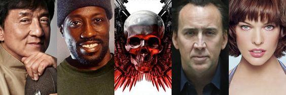 Jackie Chan, Nicolas Cage, Wesley Snipes y Milla Jovovich Estaran En The Expendables 3 | DiosCaficho.Com