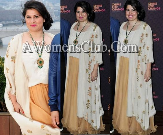 Humaira The Dream Catcher Sharmeen ObaidChinoy Dazzles In Misha Lakhani At 'Humaira The 15