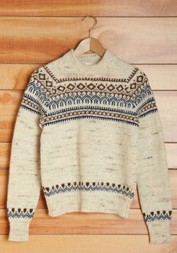 Vintage Vanilla Chai Sweater, #ModCloth