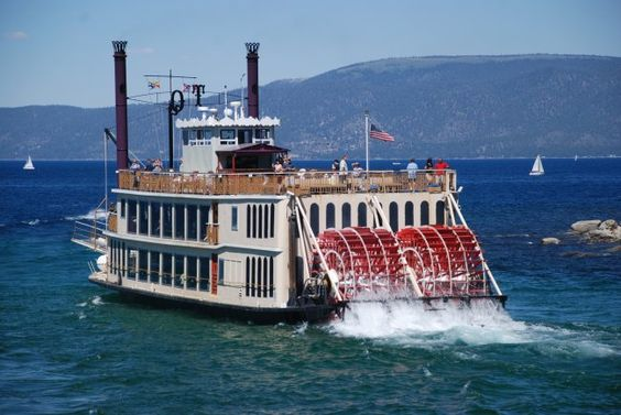 A paddle steamer is a steamship or riverboat powered by a steam engine that drives paddle wheels to propel the craft through the water. In antiquity, paddle wheelers followed the development of poles, oars and sails, where the first uses were wheelers driven by animals or humans.
