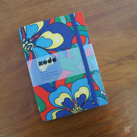 CADERNO XODÓ CHITA | Sketchbook personalizado, exclusivo e 100% artesanal! Feito com muito amor!  Acesse a loja virtual ---> www.xodopapelaria.com.br