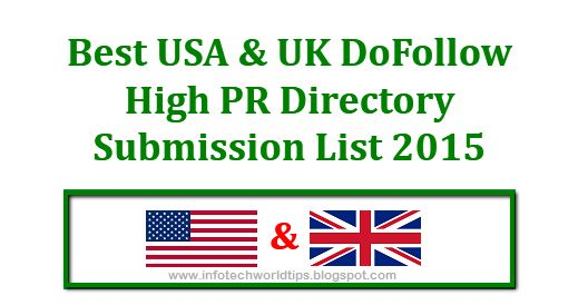 Seo directory list 2015
