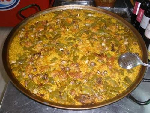 Paella Valenciana | Gastronomía | Pinterest | Paella, The o'jays and ...