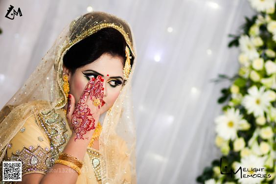 #nancyavon from www.bit.ly/jomfacial Sharing a light moment with your love dear! bride - portrait by tanvir_ahsan