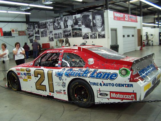 The most beautiful NASCAR ever, the 2011 Daytona 500 winning automobile, photographed in Stuart, VA at The Wood Brothers Racing Museum
