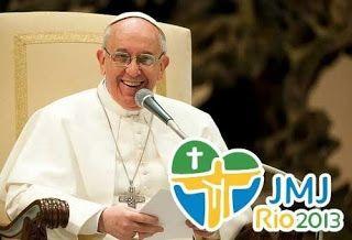 O Papa Francisco e a JMJ 2013 vem ai e o Brasil no retrocesso. ~ Lindembergue Santos