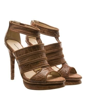 leather brown sandals shoes fashion trends
