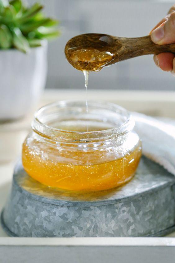 Mézes – élesztős – tejszínes pakolás