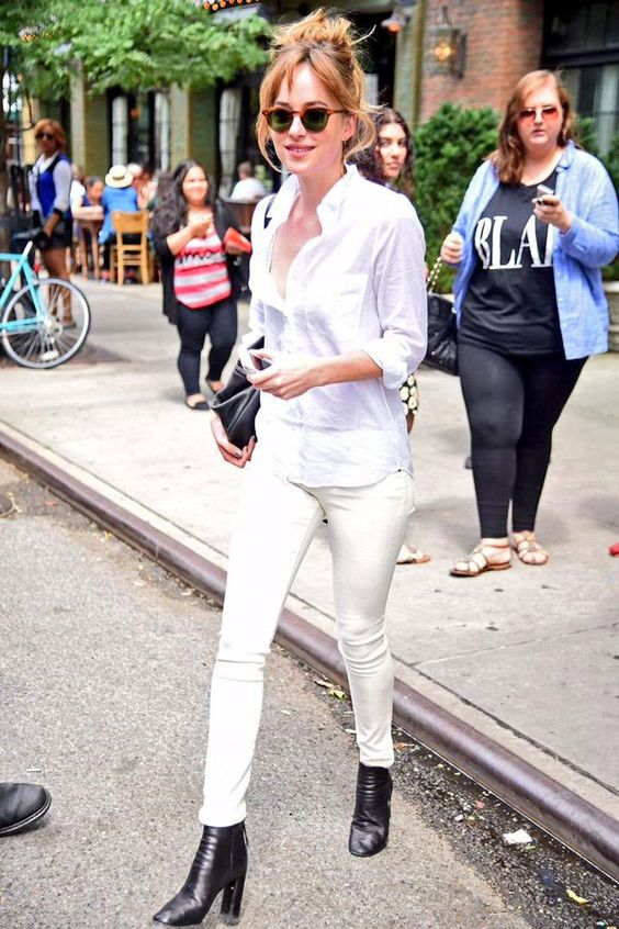 O Look Branco Nunca foi tão Hot: