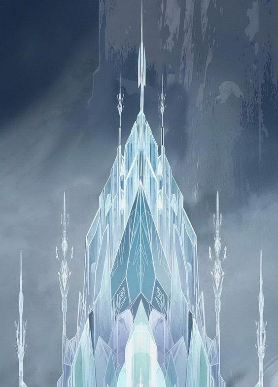 Frozen - Elsa's ice castle | Frozen ️ ⛄️ | Pinterest | Ice ...