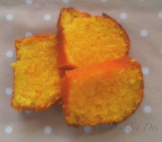 Mucho Más Que Dos: Bizcocho  de  Zanahoria .