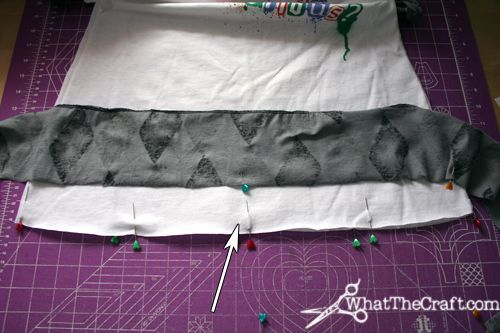 How to Sew a Ruffled Hem the Easy Way – DIY Fashion Tutorial « DiY crafts, free sewing tutorials & kickass clothing patterns – WhatTheCraft.com