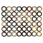 Metallic Dots Plaque | Kirkland's  I thought about putting photos in some of the circles