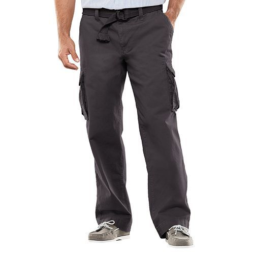 SONOMA life   style® Relaxed-Fit Slubbed Cargo Pants - Men ...