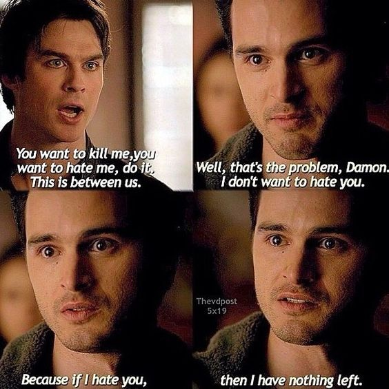 The vampire diaries 5x19....Enzo is just breaking my heart ...