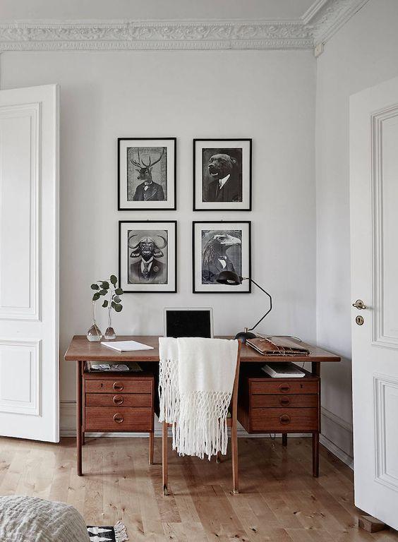 Interiors | Light Filled Swedish Apartment - DustJacket Attic