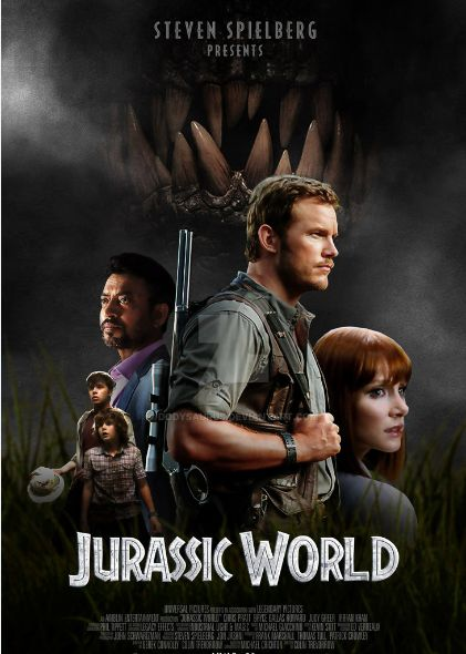 English movie Jurassic world dual audio