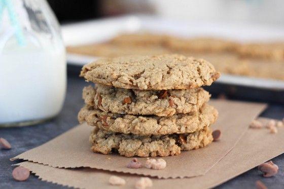 Cinnamon Maple Toffee Monster Cookies | Toffee, Monsters and Cinnamon