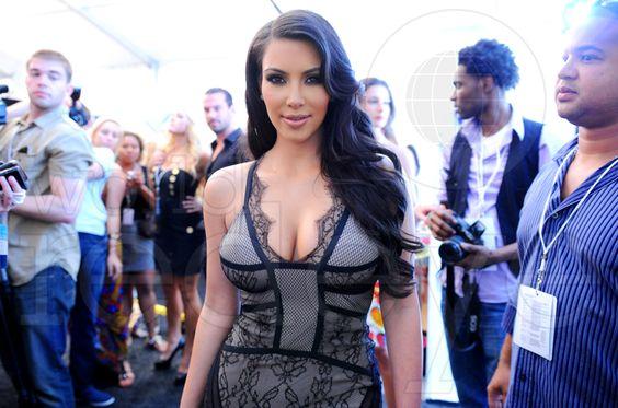 #MBFWSwim #PinIt2WinIt  kim kardashian  @Mercedes-Benz Fashion Week