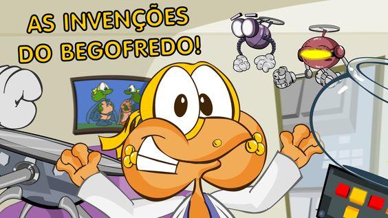 As Invenções Do Begofredo - Desenho animado infantil, dublado em portugu...