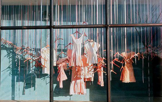 Mrs. SHOPFITTER: window display