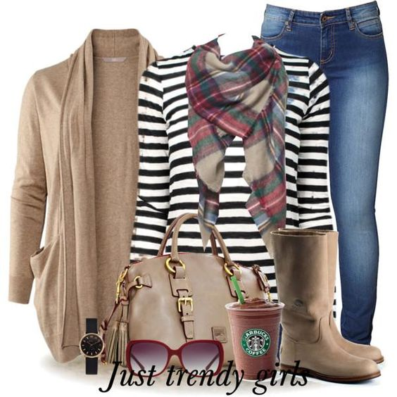 how to wear a plaid scarf, Best woman casual looks for winter http://www.justtrendygirls.com/best-woman-casual-looks-for-winter/