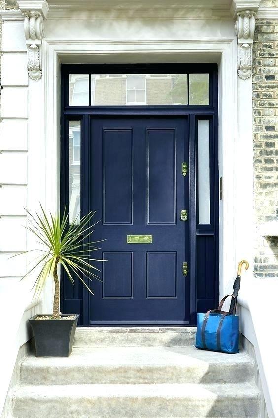 Image Result For White House Blue Door Gray Front Door Colors Traditional Front Doors Painted Front Doors
