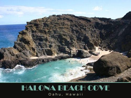 Halona Beach Cove, Honolulu, Hawaii, United States