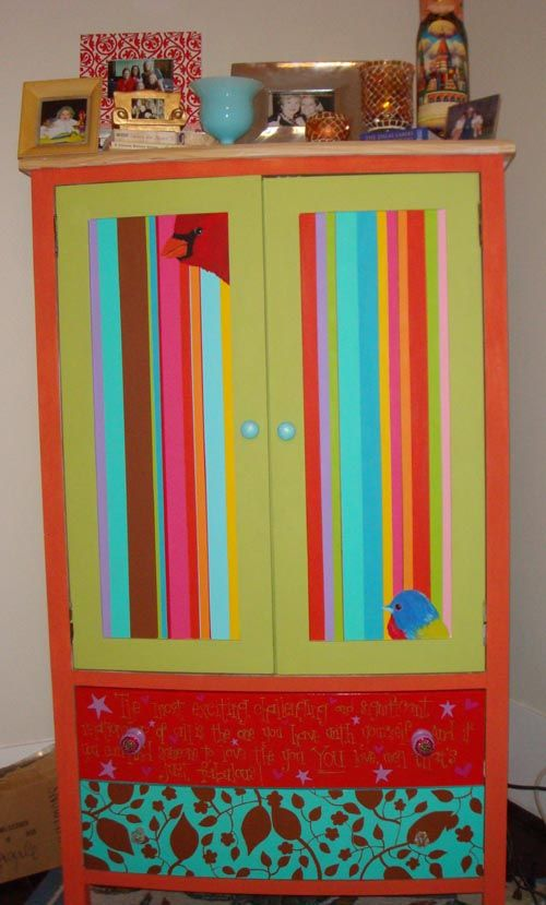 I ADORE this armoire!