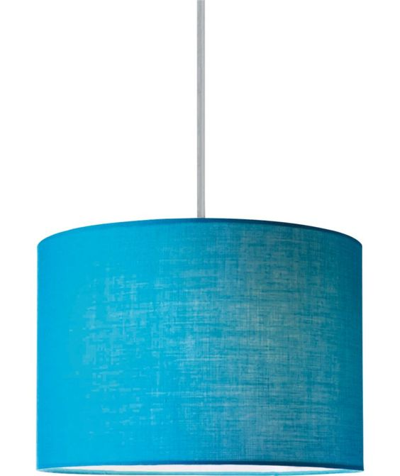 Buy ColourMatch Fabric Shade - Lagoon at Argos.co.uk - Your Online Shop for Lamp shades ...
