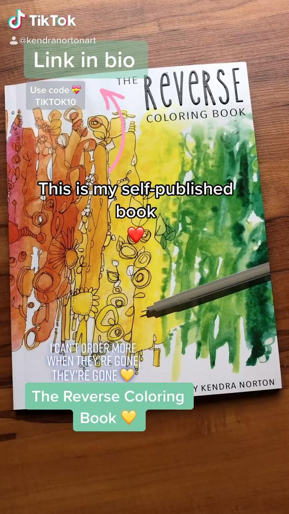 Pin On Reverse Coloring Book
