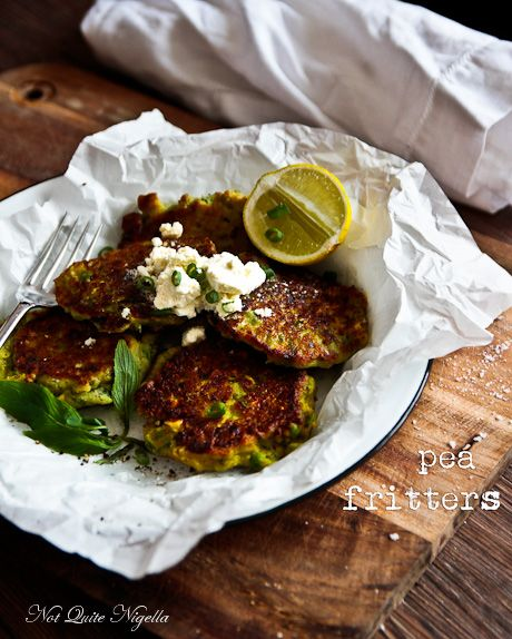 Cook With Me: Curried Pea, Corn & Feta Fritters!