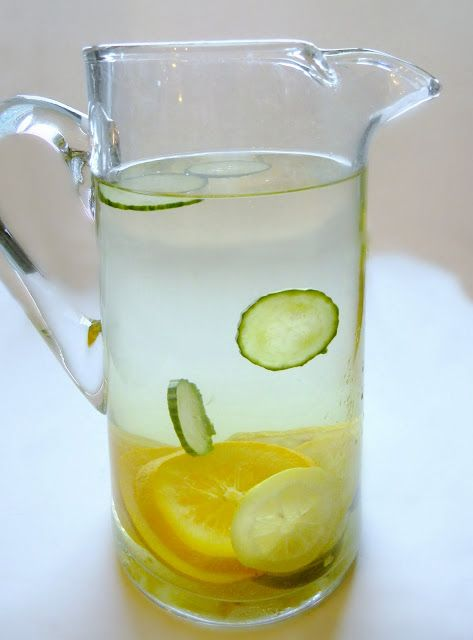 Lemon cucumber water, Cucumber water and Details about on Pinterest