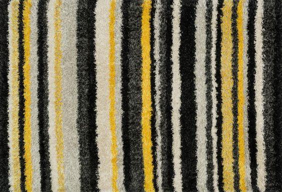 Cosma Yellow/Multi Stripes Rug