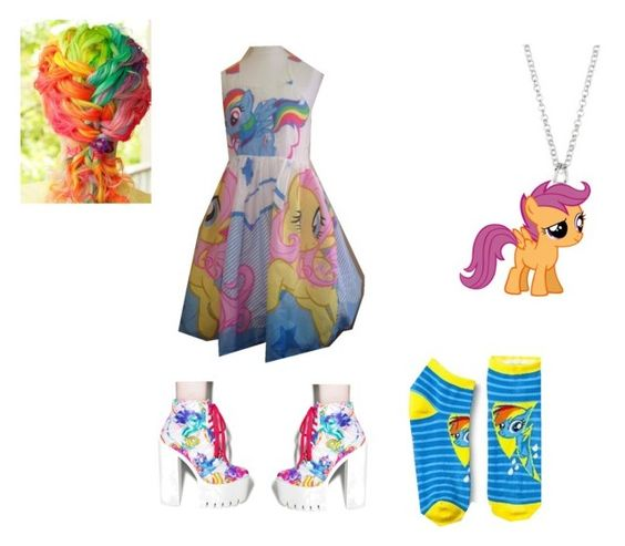 My Little Pony Fan !!! by skylarpony23 on Polyvore featuring polyvore, fashion, style, My Little Pony and Iron Fist