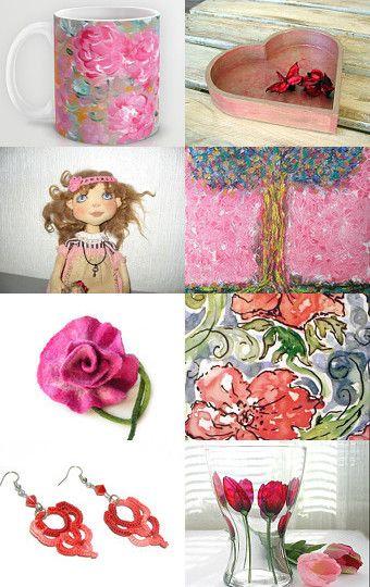 La Vie En Rose... by Nathalie on Etsy--Pinned with TreasuryPin.com